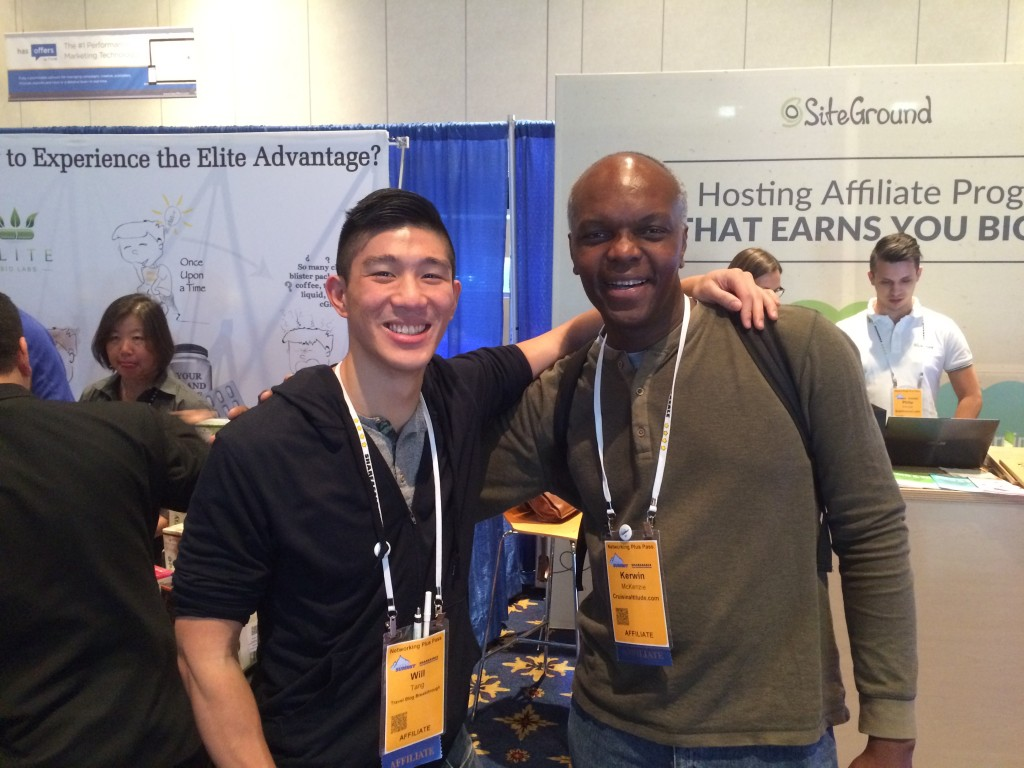 Hanging out with Kerwin at ASW15.
