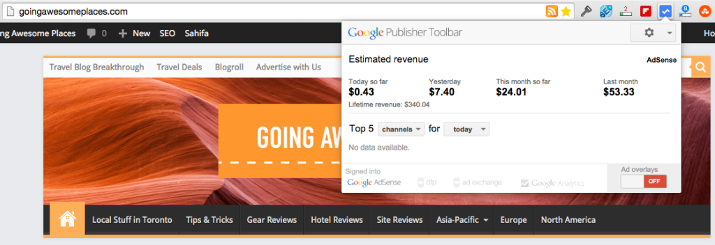 Google Publisher Tool Demo