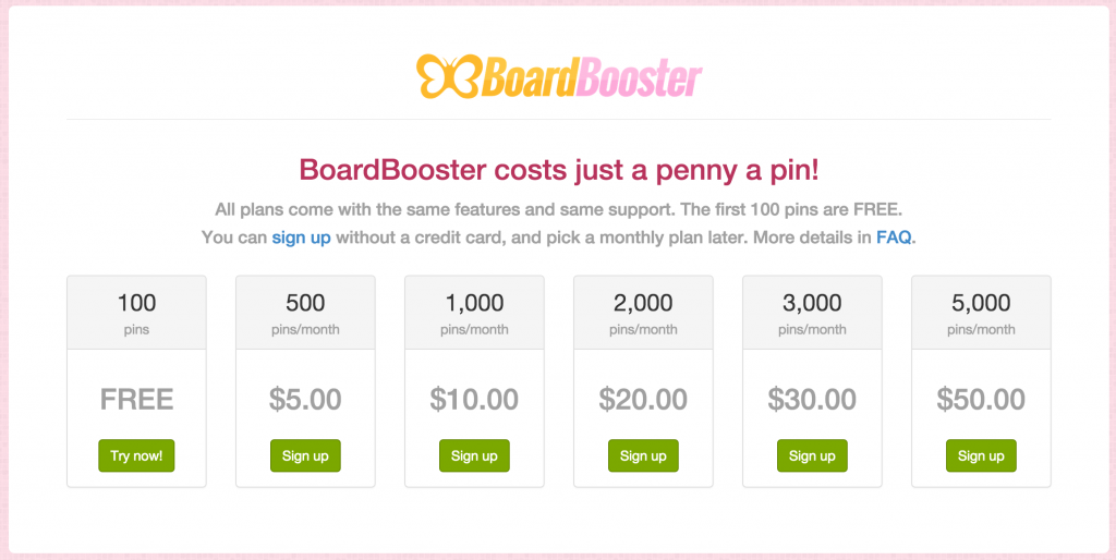 BoardBooster Pricing