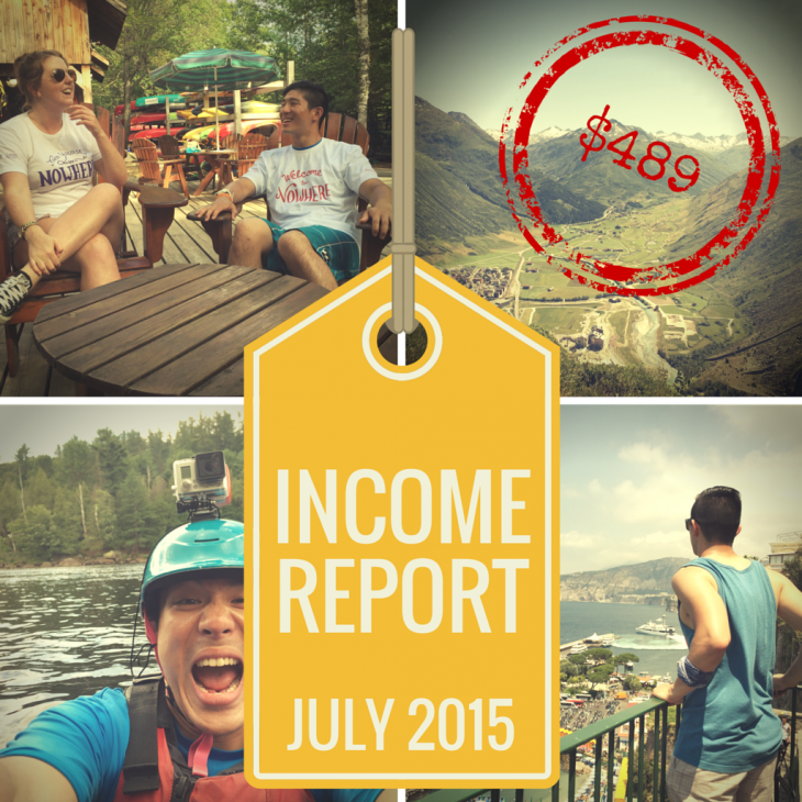 July 2015 Income Report Featured