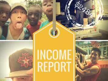 January - April 2016 Income Report 2